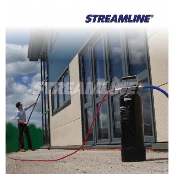 Тележка с оборудованием для высотной мойки фасадов окон и витрин STREAMLINE-SK092-252-011 Filterplus®Mobi®
