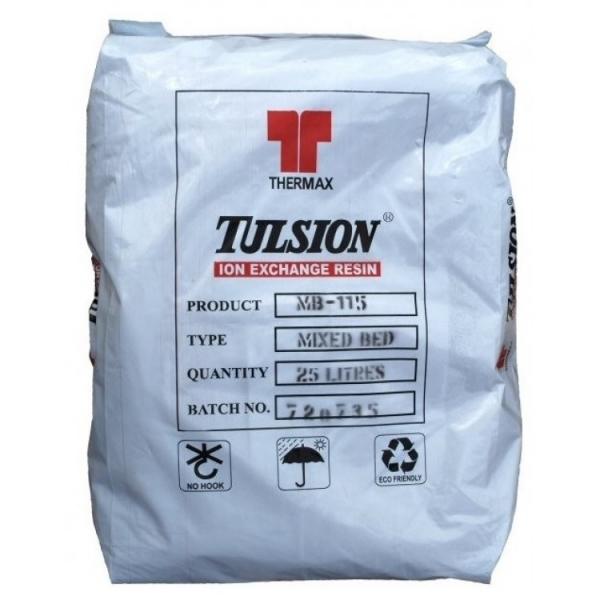 Деминерализирующая ионообменная смола высшего класса Thermax Tulsion High Grade MB-115 Thermax