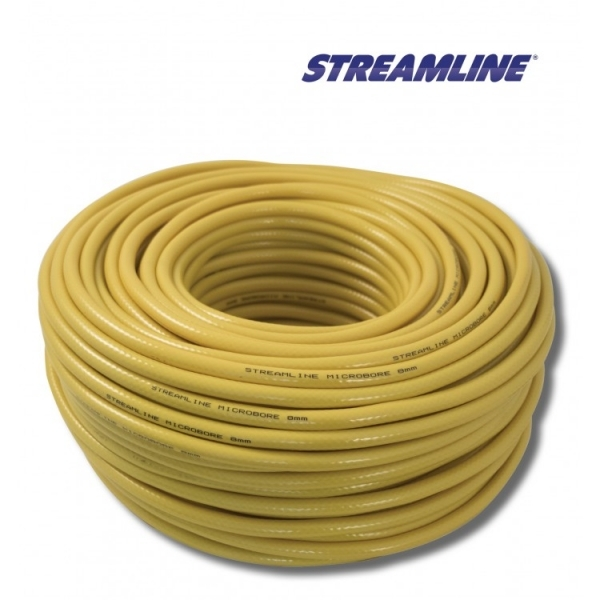 Шланг 8 мм. STREAMLINE PVCT14-8-100-Y