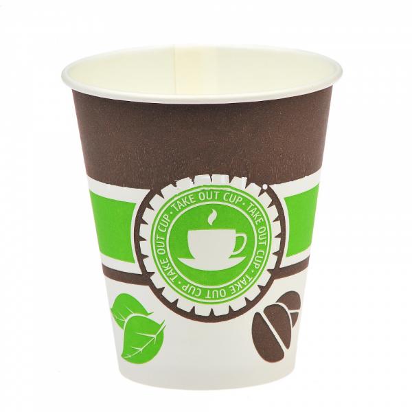 "Стакан бумажный ""Чай, кофе"" ГН 250 мл (d-80 мм) (50/1000 шт.)"