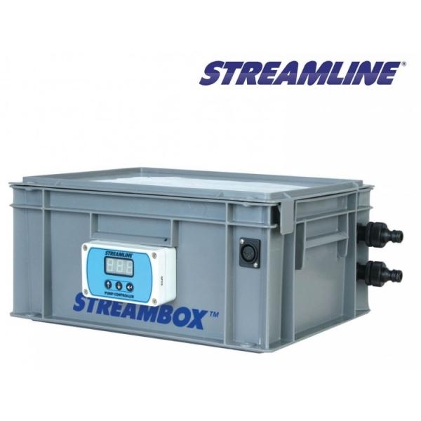 Насос с аккумулятором для подачи воды на высоте до 23 м STREAMLINE SB100-26V-BC