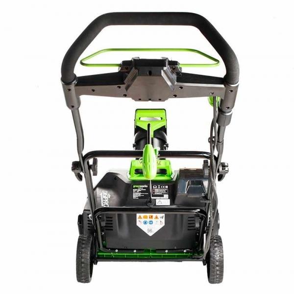Снегоуборочная машина аккумуляторная Greenworks 80 В 2600107