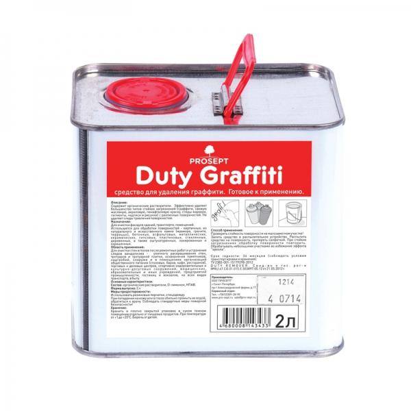 Средство для удаления граффити Duty Graffiti 2л