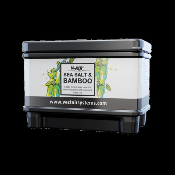 Профессиональный картридж ароматизатор воздуха V-Air Solid Plus Морская соль и бамбук  VECTAIR SYSTEMS