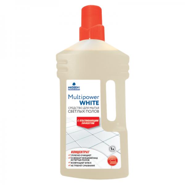 Средство для мытья светлых полов Multipower White 1л
