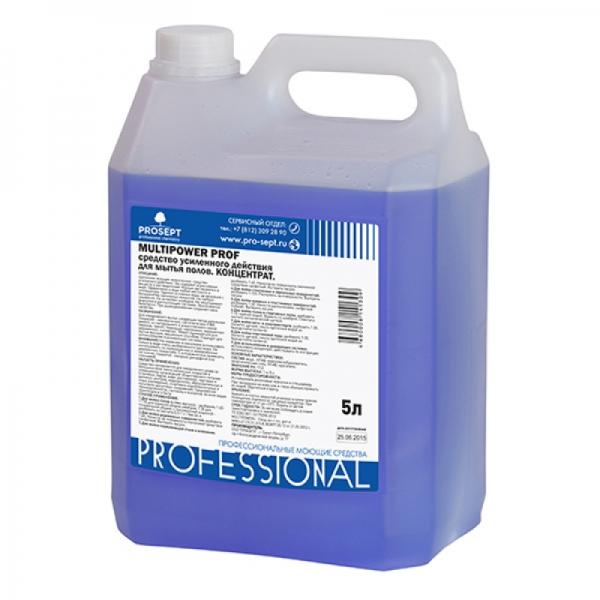 Средство усиленного действия для мытья напольных покрытий Multipower Prof 5л