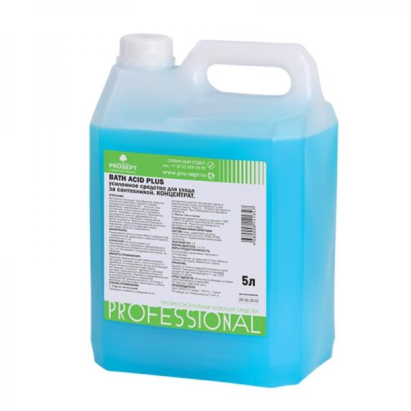 Средство усиленного действия для удаления ржавчины Bath Acid+ 5л
