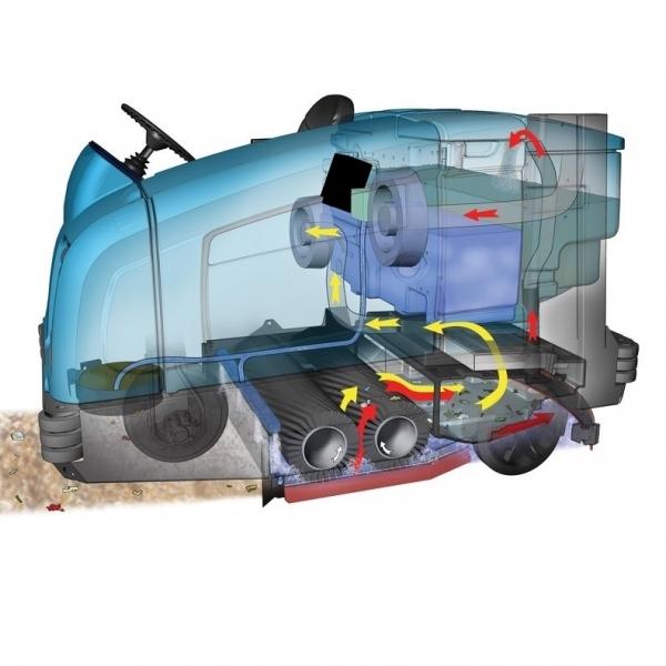 Подметально-поломоечная машина Tennant M30 Diesel