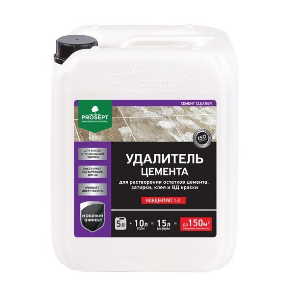 Смывка для бетона, цемента  PROSEPT CEMENT CLEANER 5 л.