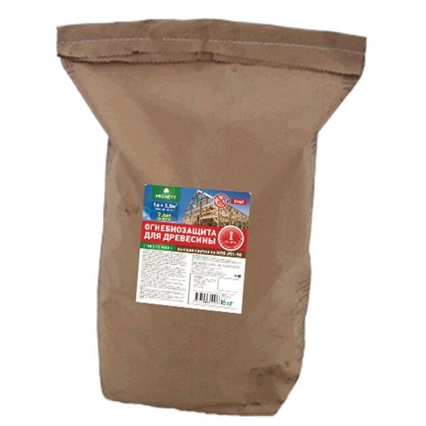 Огнебиозащита для древесины. PROSEPT ОГНЕБИО PROF 1 16 кг
