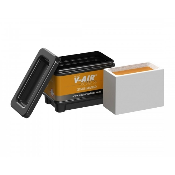 Профессиональный картридж ароматизатор воздуха V-Air Solid Plus Цитрус-манго  VECTAIR SYSTEMS