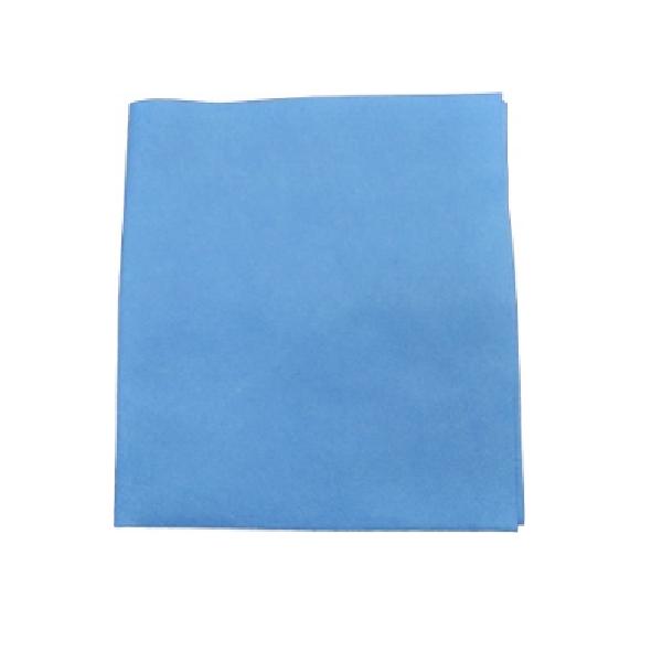 Салфетка Микроспан 38*38 см, 100 гр/м, синий