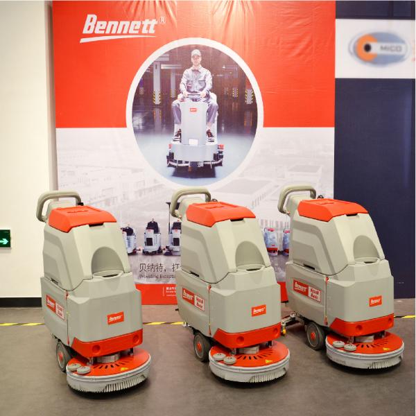 Аккумуляторная поломоечная машина Bennett Smart S510b Basic (с литиевым АКБ 100A)