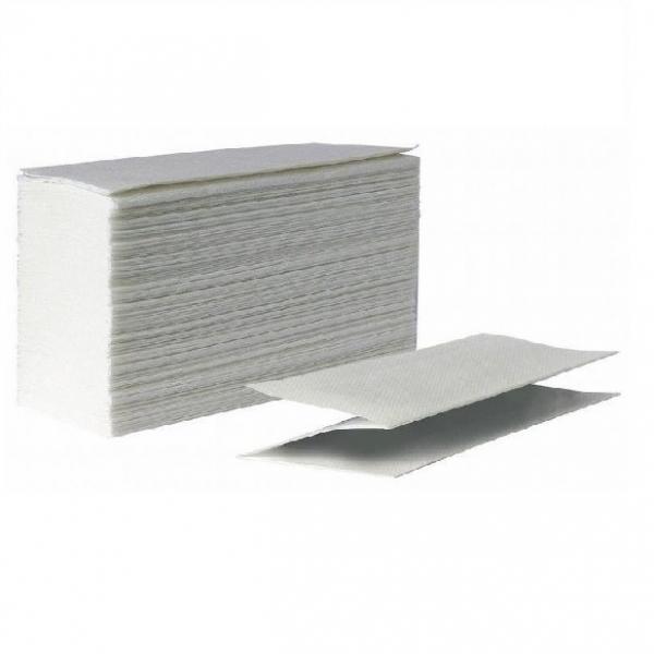 Полотенца бумажные Z-сложения, 2 слоя, 150 листов, целлюлоза