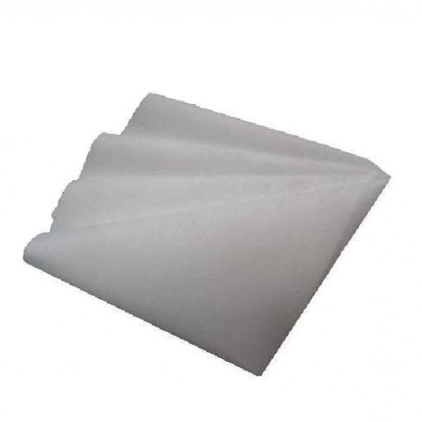 Салфетка Микроспан МС60-01 белая 400*380 мм