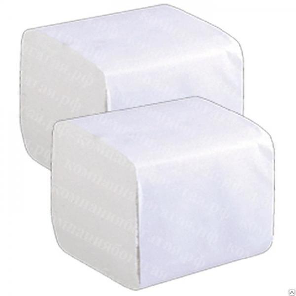 Листовая туалетная бумага 250 листов 1 слой