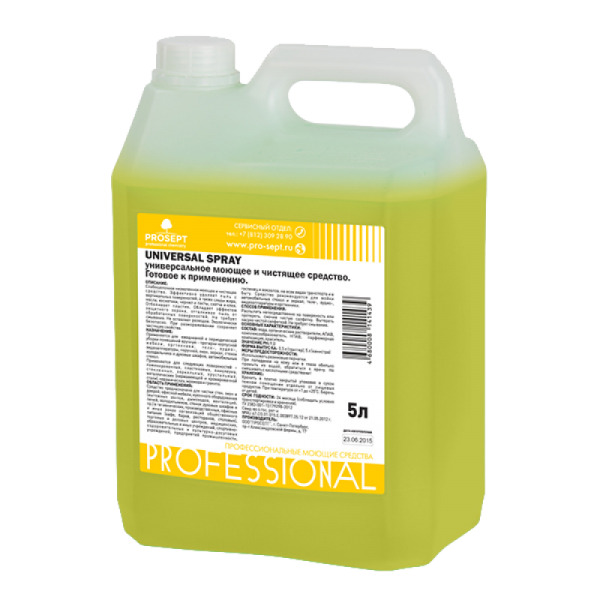 Универсальное моющее и чистящее средство Universal Spray 5 л