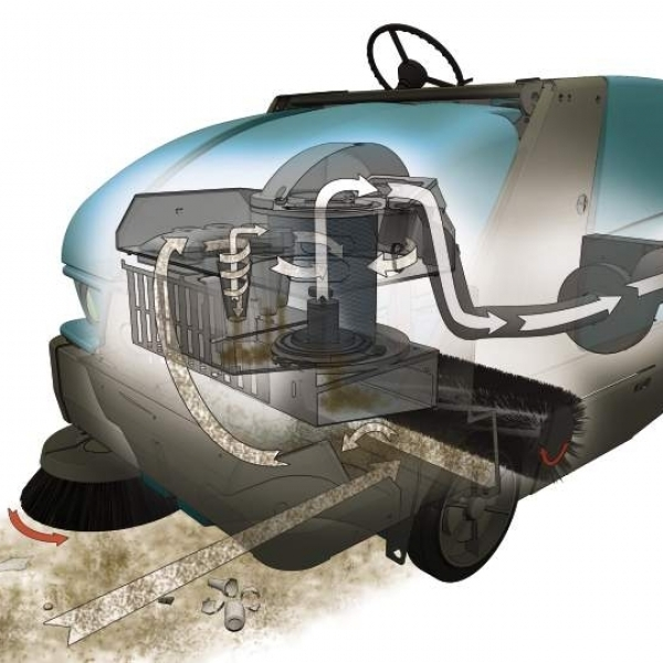 Подметальная машина Tennant S20 кислота
