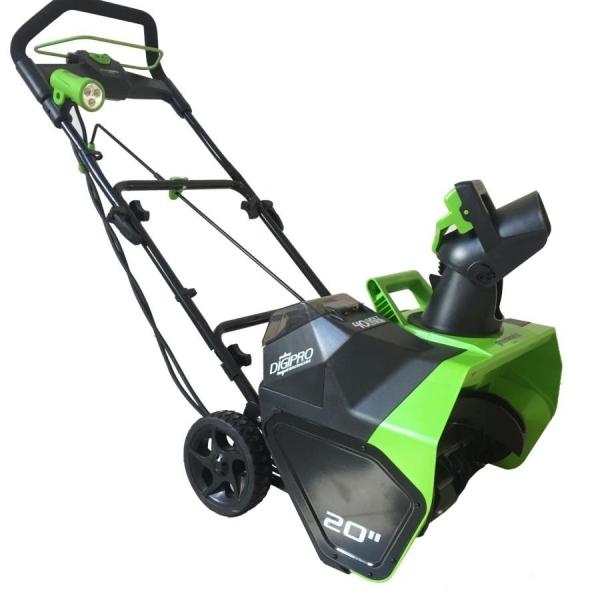 Снегоуборочная машина аккумуляторная Greenworks 40 В 2600007