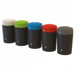 Бак пластиковый для мусора с крышкой-вертушкой 135л. 81495 LEAFIELD