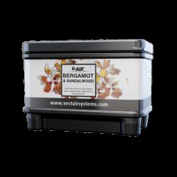 Профессиональный картридж ароматизатор воздуха V-Air Solid Plus Бергамот и сандал  VECTAIR SYSTEMS