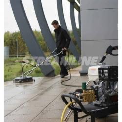 Оборудование для чистки тротуарной плитки под высоким давлением Hard surface cleaner HP-HSC550 STREAMLINE