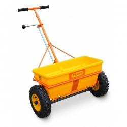 Разбрасыватель сеялка на колесах для противогололедных материалов 35 л. 8487 CEMO