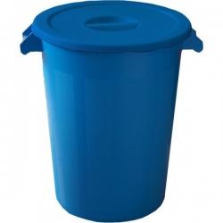 Бак пластиковый синий с крышкой с ручками 231200 DENOX 100л.
