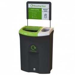 Контейнер для раздельного сбора мусора 2 раздела 81893 87л. LEAFIELD