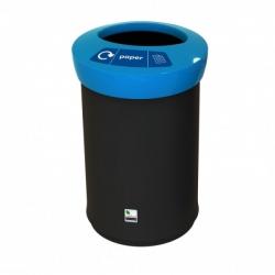 Ведро мусорное пластиковое с открытой крышкой 81900 41л. LEAFIELD