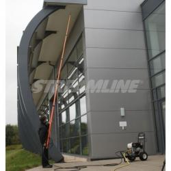 Телескопическая штанга гибридная STREAMLINE Carbon Power HP-HX6-COMP