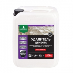 Смывка для бетона, цемента  PROSEPT CEMENT CLEANER 5 л.