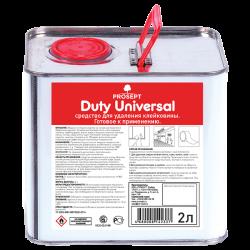 Средство для удаления скотча и наклеек Duty Universal 2л