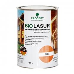 Лессирующий антисептик с воском и льняным маслом. PROSEPT BiO LASUR 0,9 л