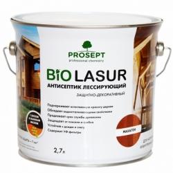 Лессирующий антисептик с воском и льняным маслом. PROSEPT BiO LASUR 2,7 л