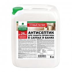 Антисептик для бани и сауны. PROSEPT ECO SAUNA 5 л