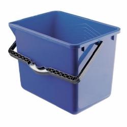 Ведро 8 литров прямоугольное синее