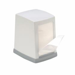 Диспенсер настольный для салфеток белый