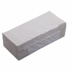 Полотенца листовые V сложения, 200 листов, 1 слой,  макулатура