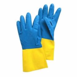 Перчатки БИКОЛОР, многоцелевые, размер XL