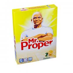 """Универсальный чистящий порошок Mr.Proper """"Лимон"""" 400 гр."""