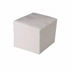 Салфетки бумажные, 1 слой,  100 штук, белые