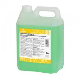 Универсальное моющее и чистящее средство с усиленной формулой Universal Spray+ 5л